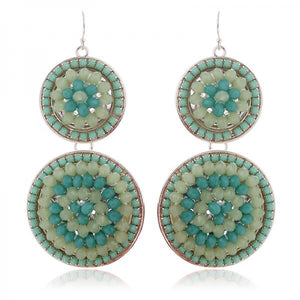 Inda Earrings (Green)