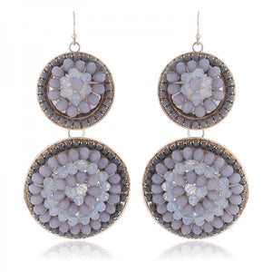 Inda Earrings (Grey)