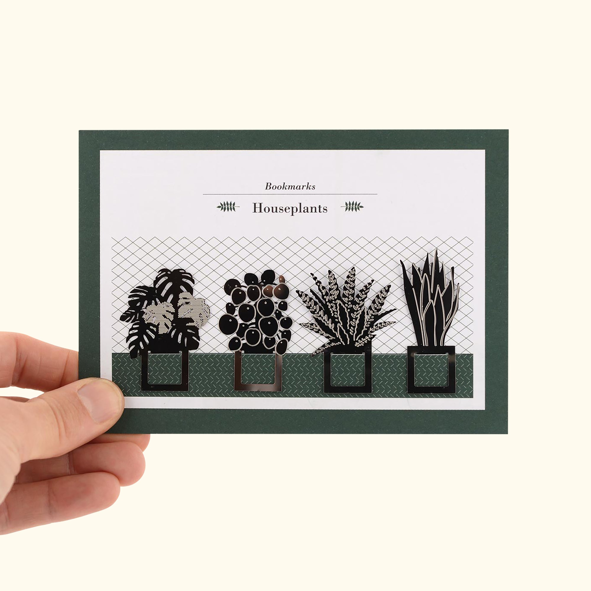 Houseplant Bookmarks