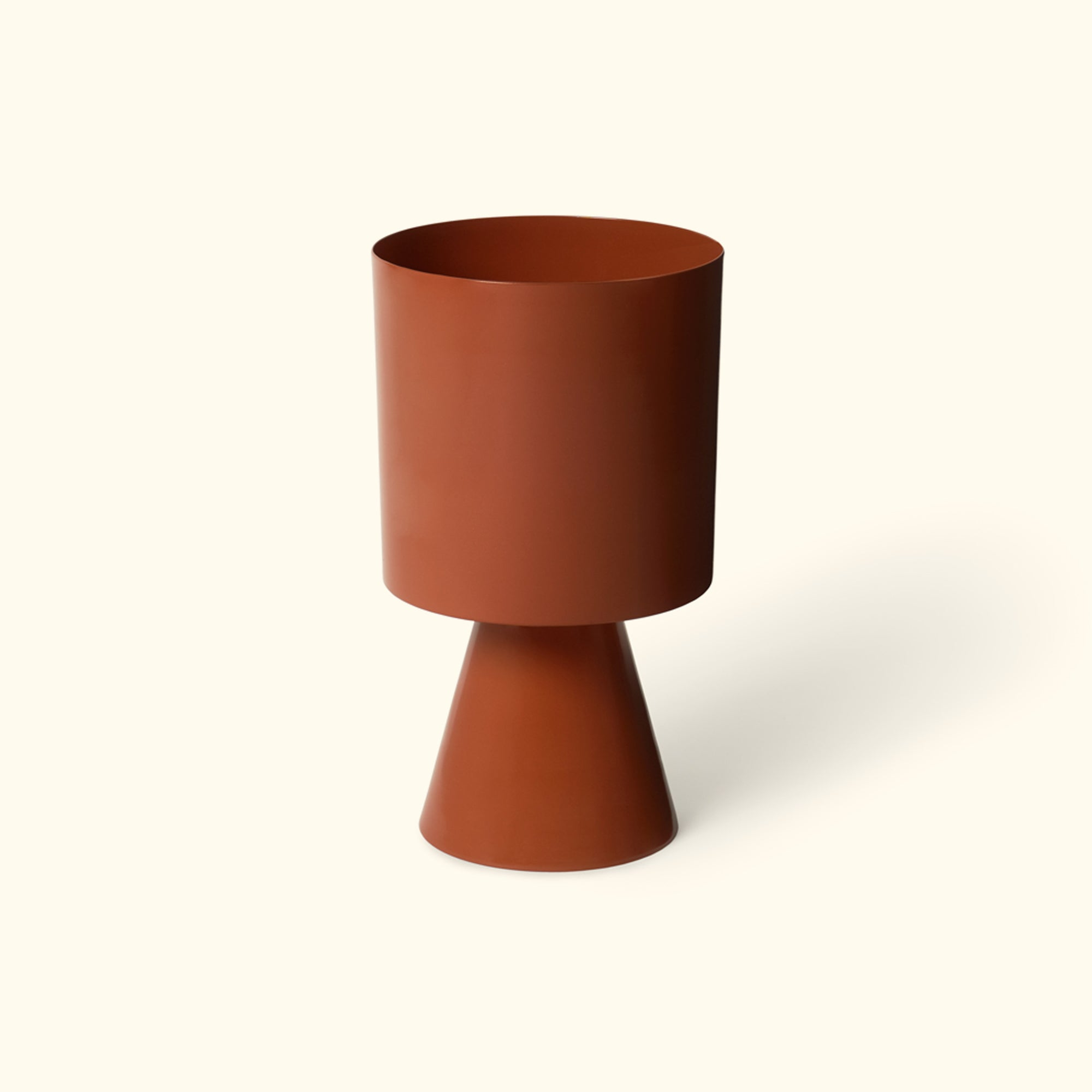 Palm Springs Planter - Burnt Sienna