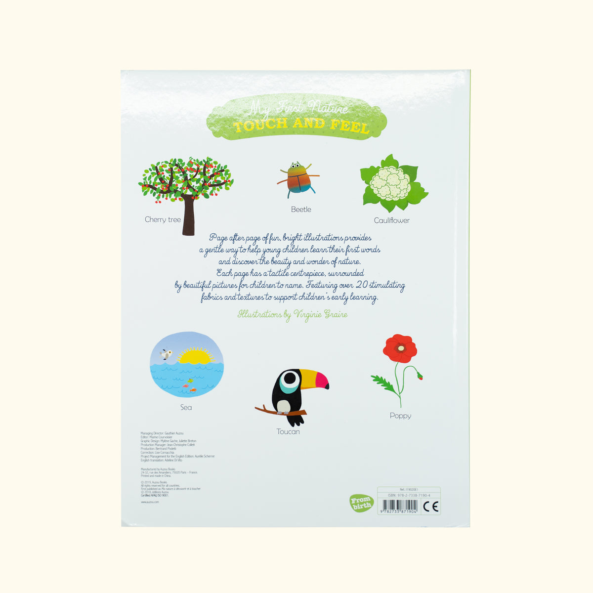 My First Nature Touch and Feel Book