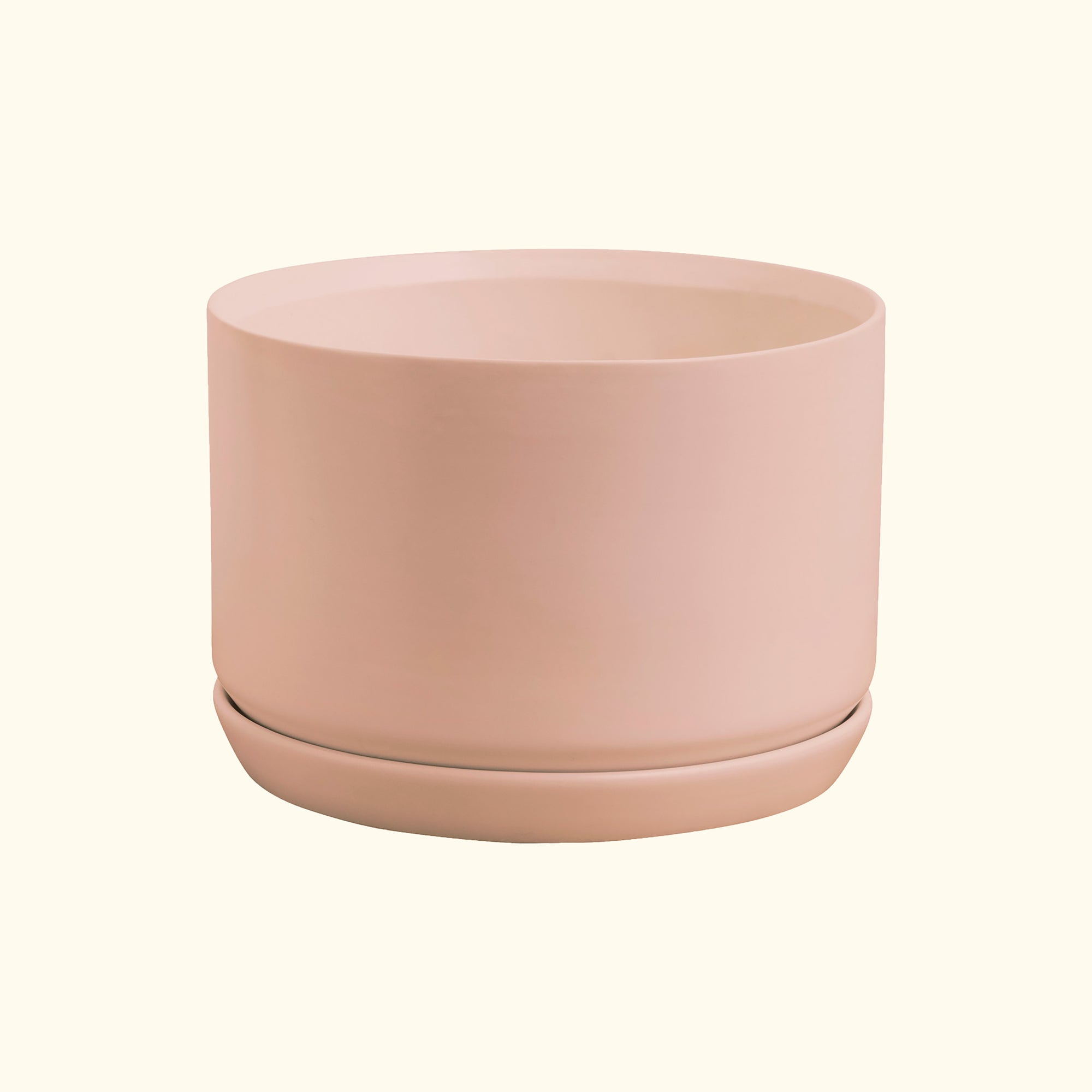 Wide Oslo Planter Peach