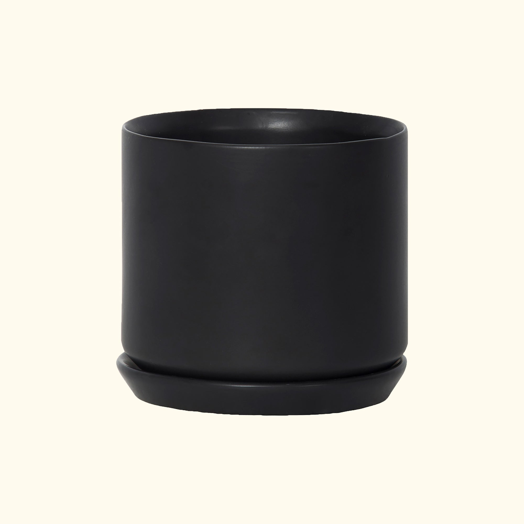 Medium Oslo Planter Black