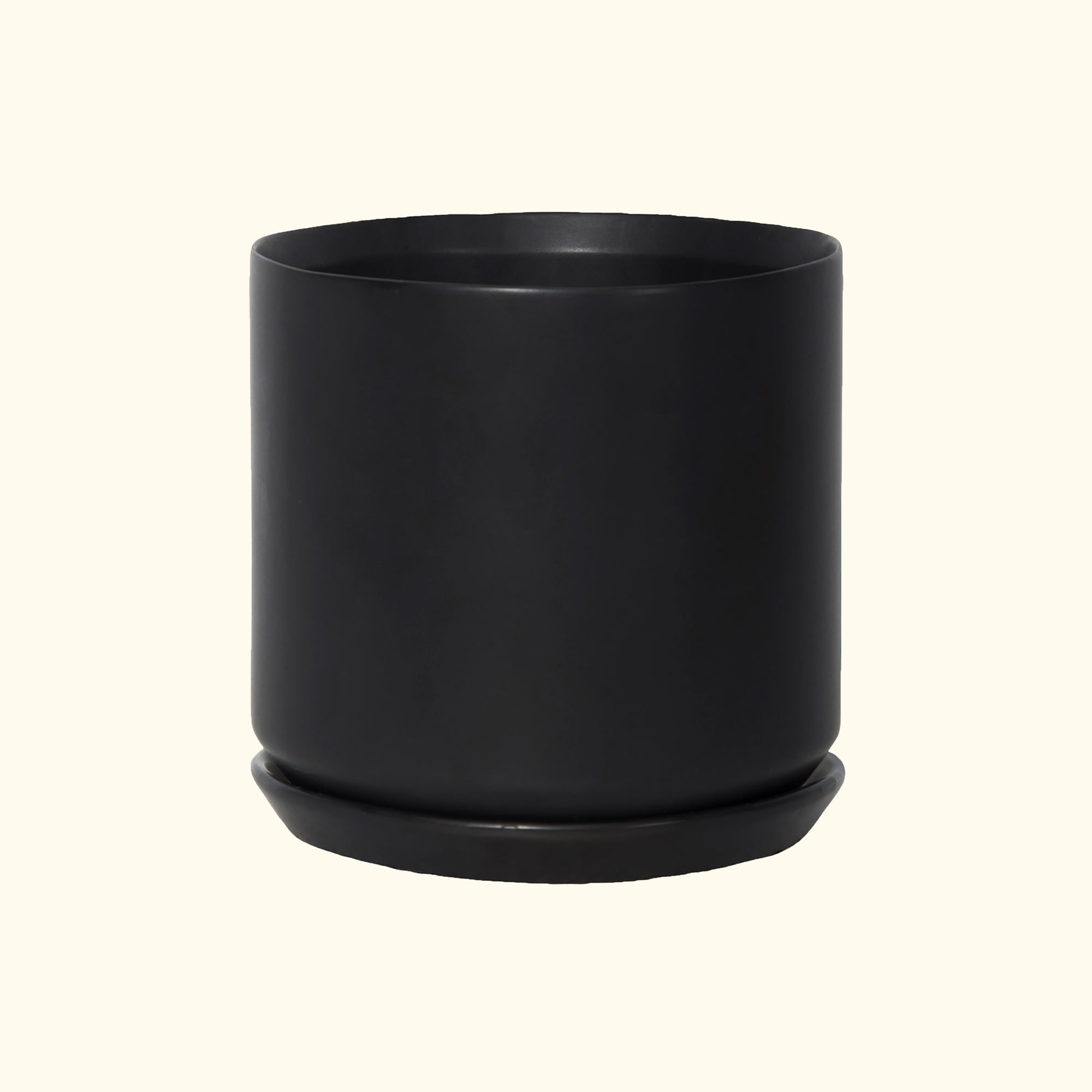 Large Oslo Planter Black
