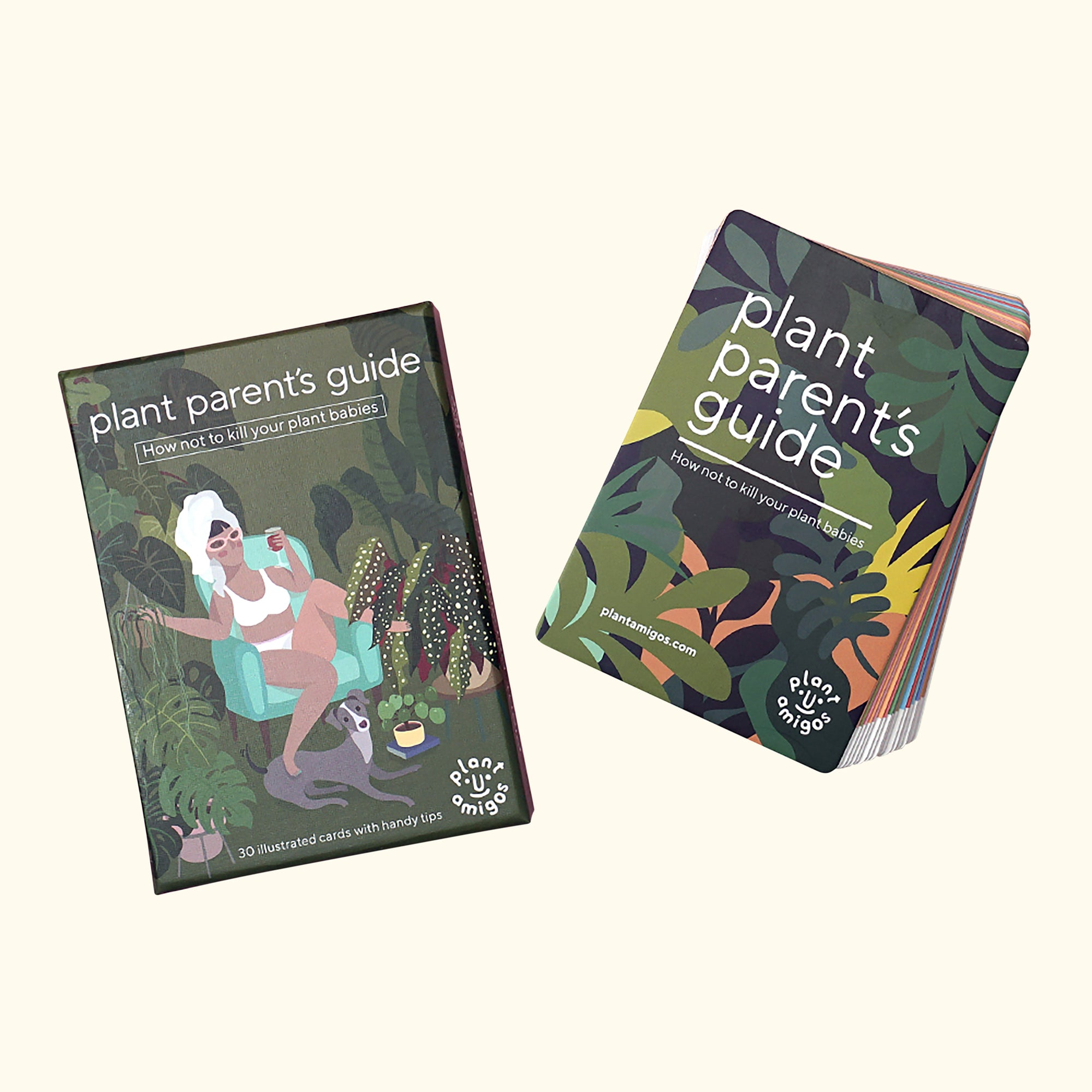 Plant Amigos - Plant Parent's Guide Deck of Cards