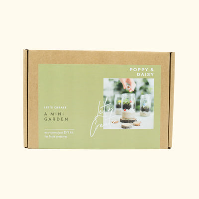 Poppy & Daisy Mini Garden Kit
