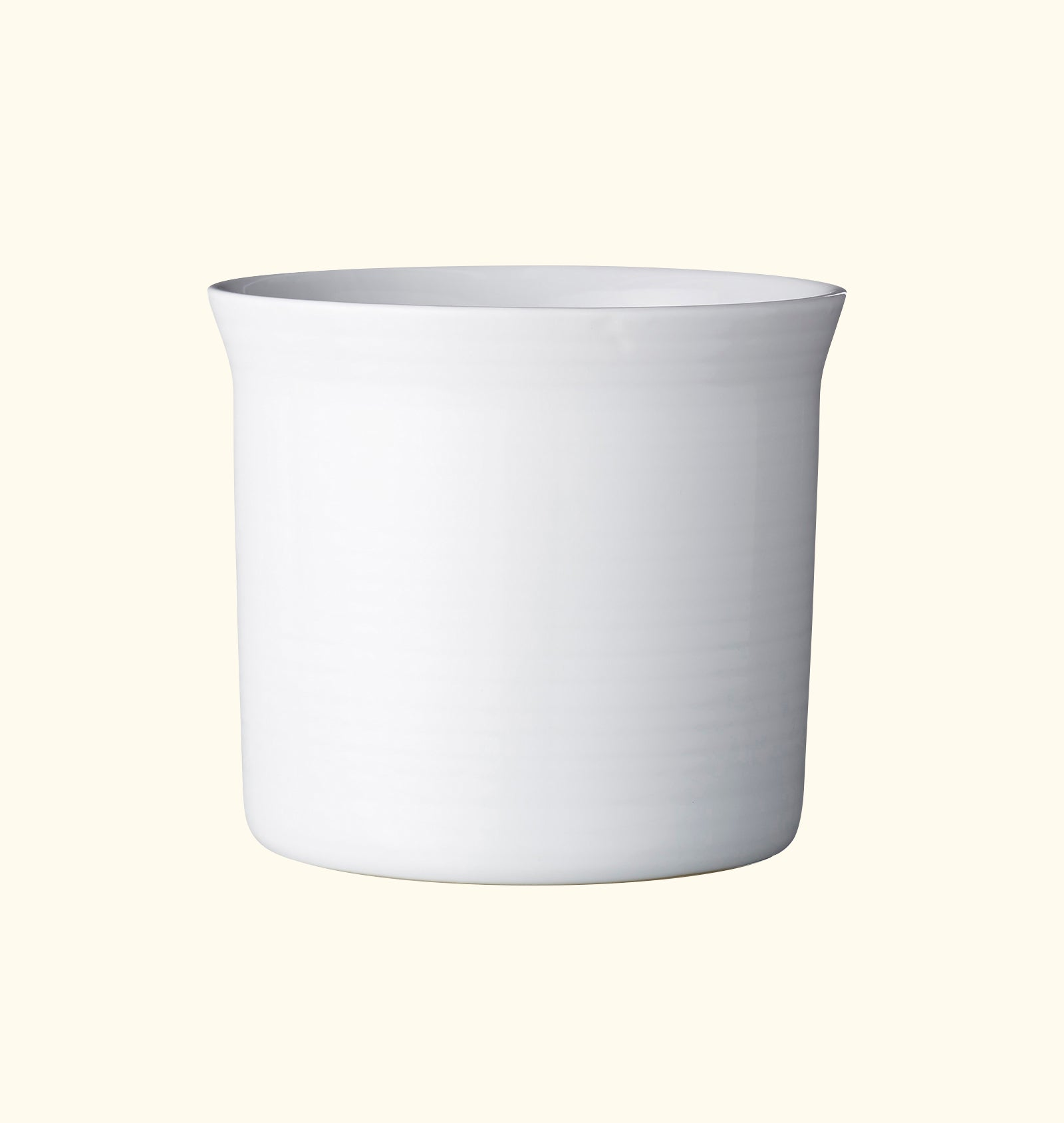 Wave Pot Medium Soft White