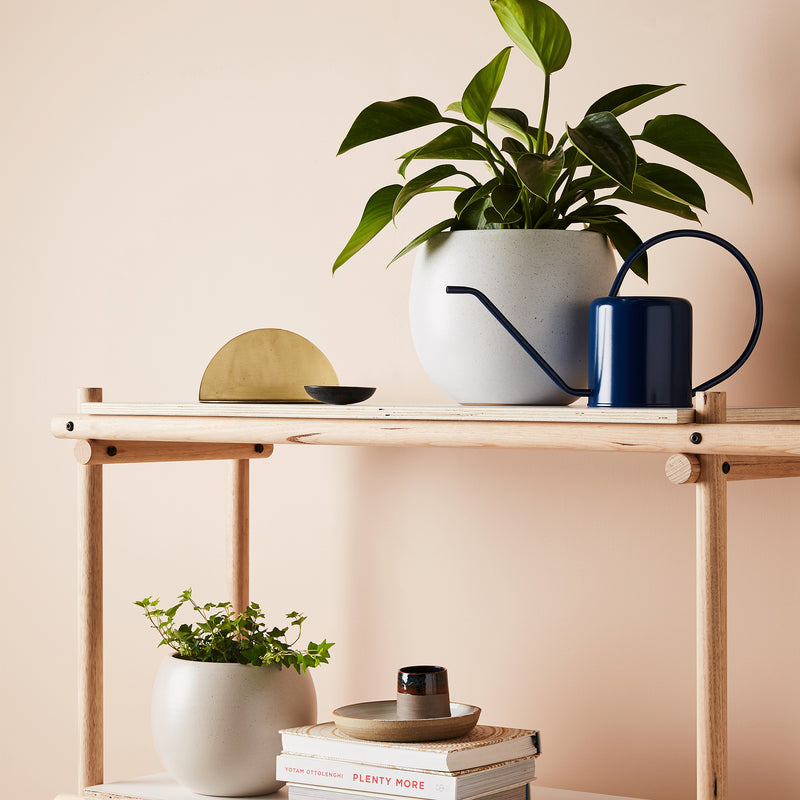 Flora Watering Can - Navy
