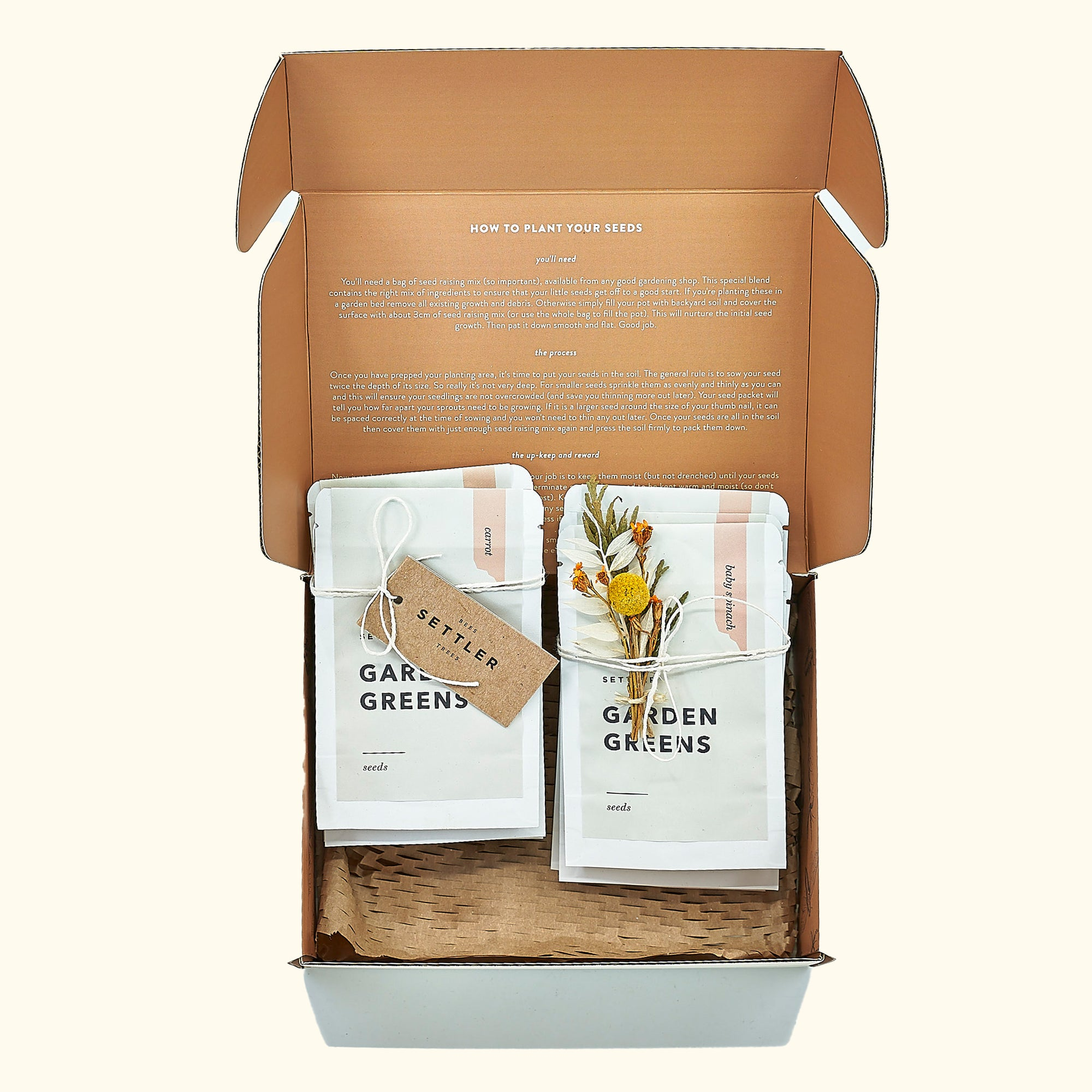 Settler Hives Garden Greens Pack