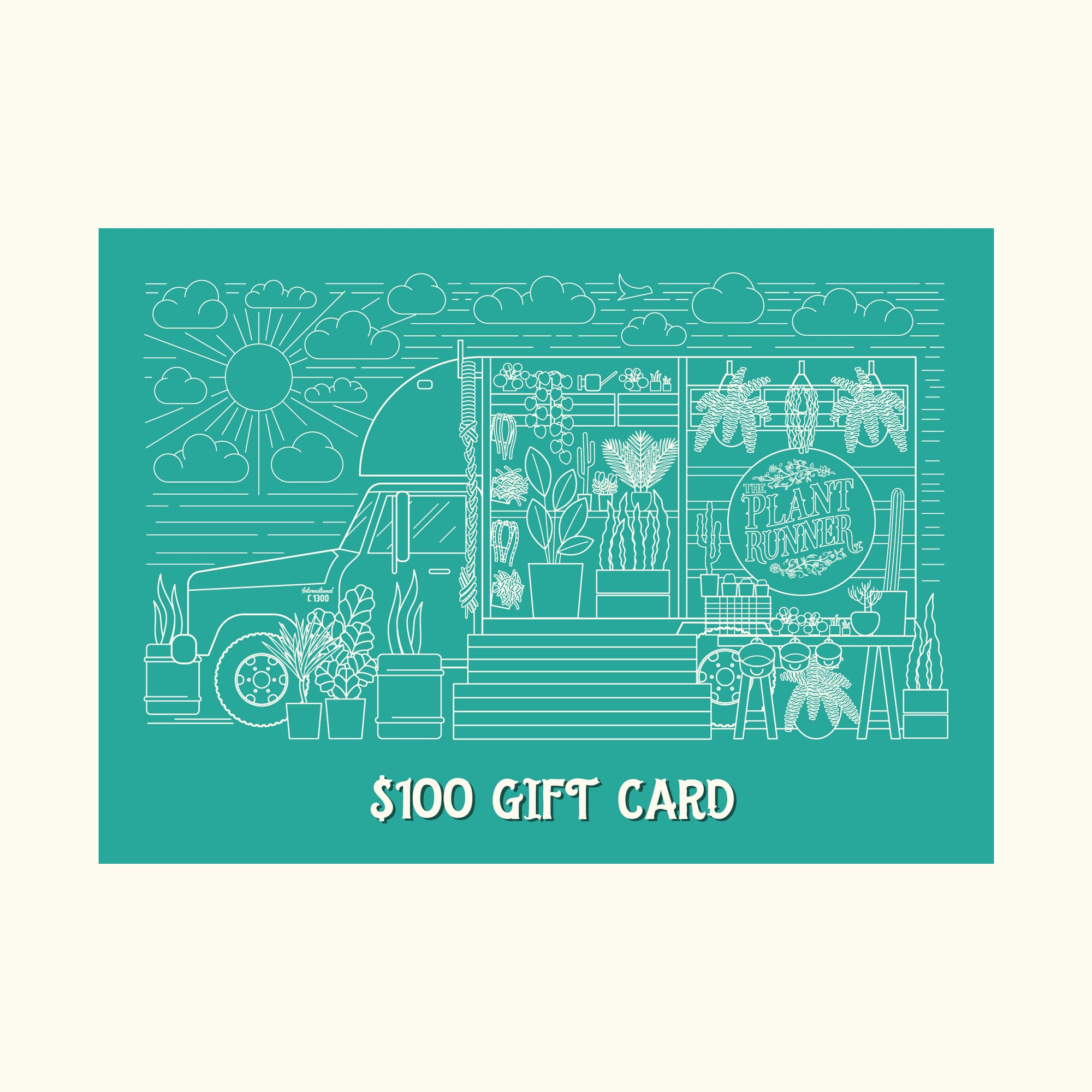 $100 Physical Gift Card