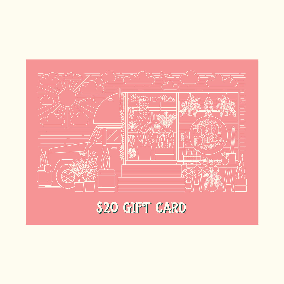 $20 Physical Gift Card