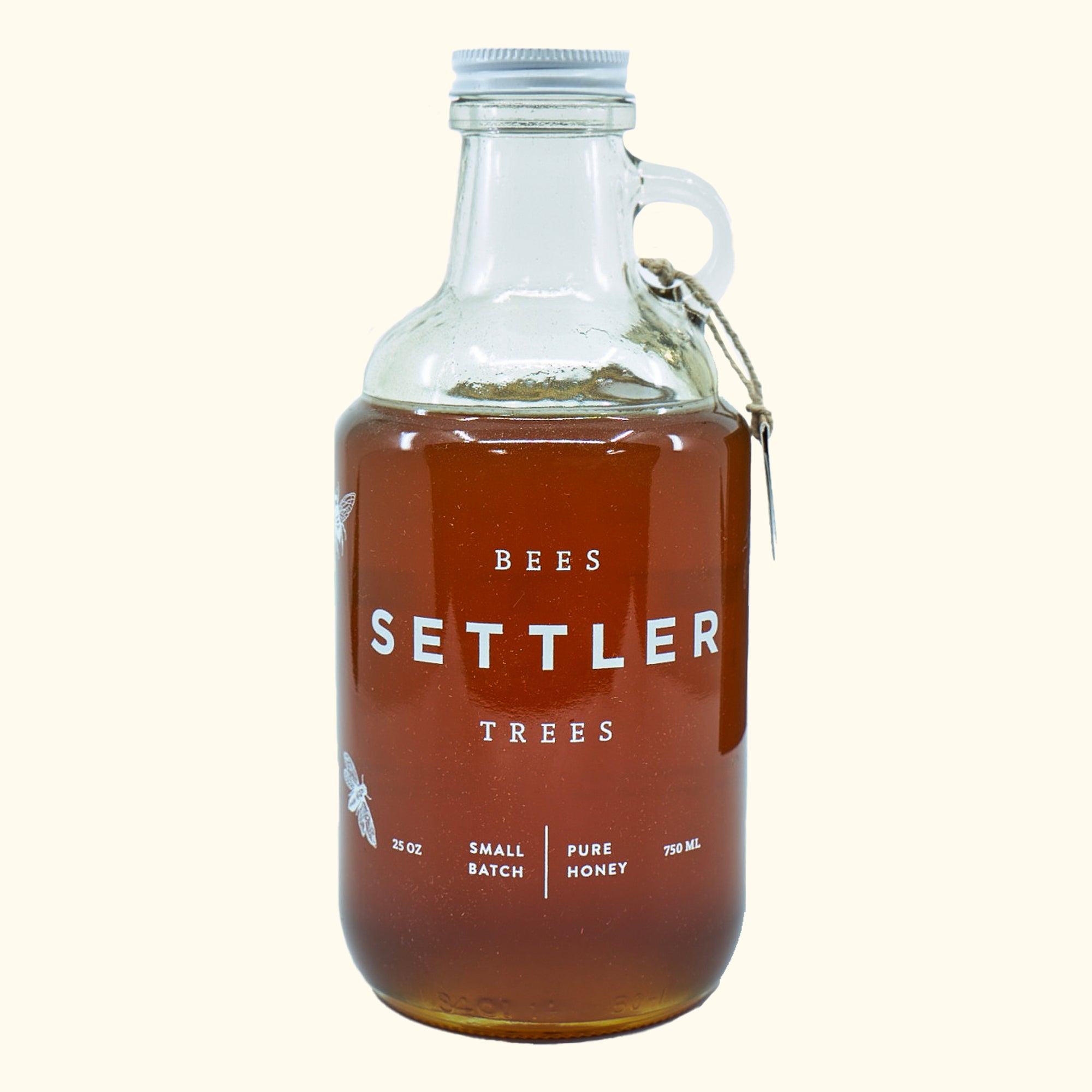 Settler Growler with 1kg of Toowoomba Honey