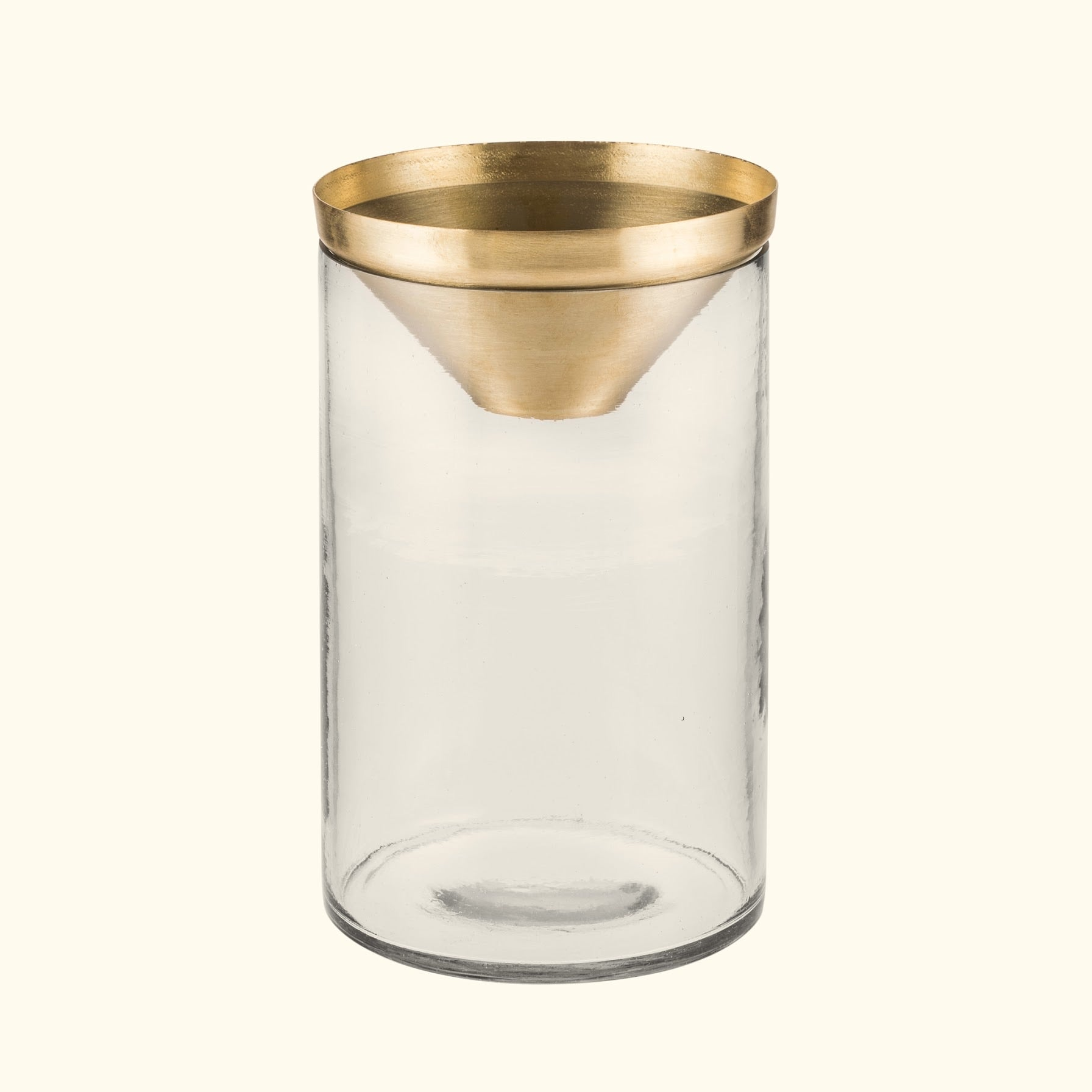 ZAKKIA Botanical Vase - Large Brass