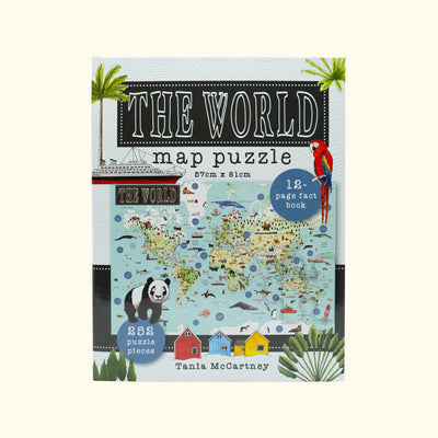 The World Map Puzzle
