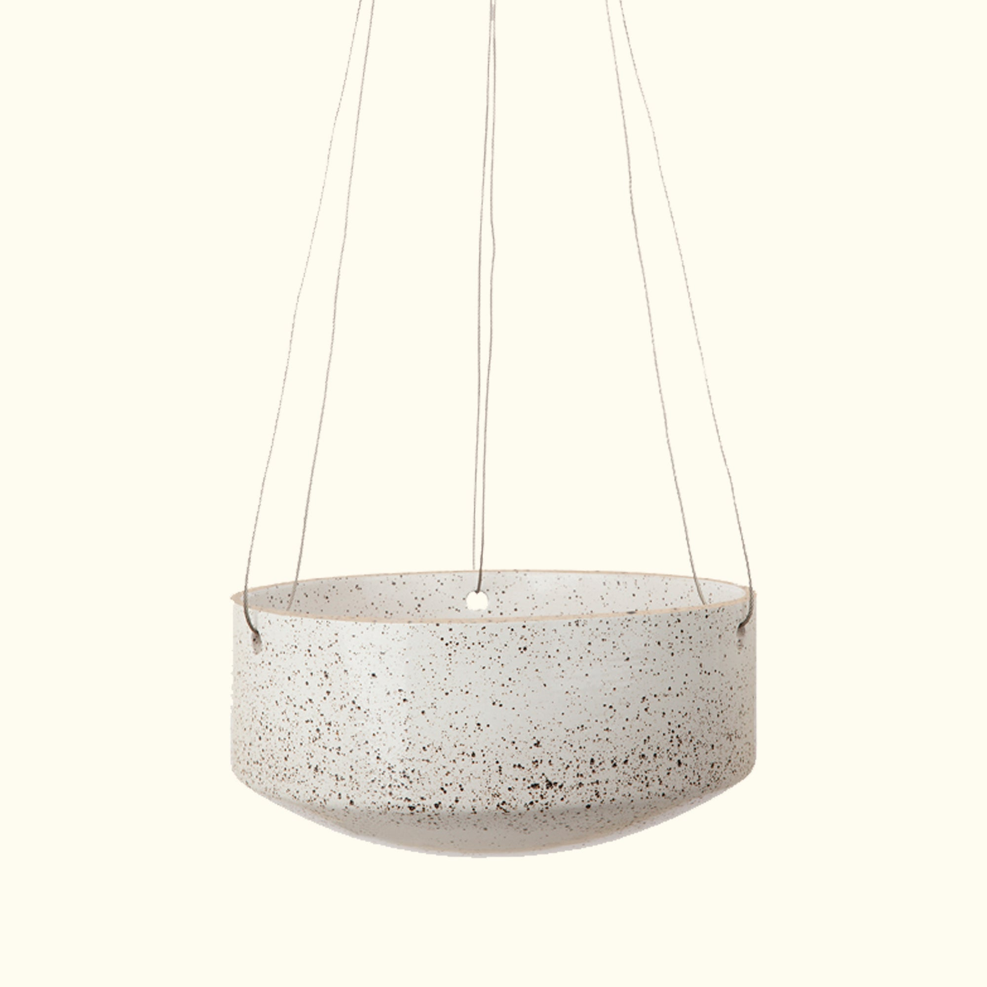 Large Embers Hanging Planter - Ash