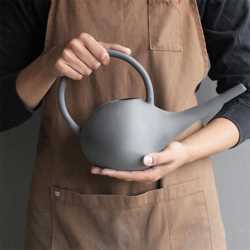 Robert Gordon Black Ceramic Watering Can 1 litre