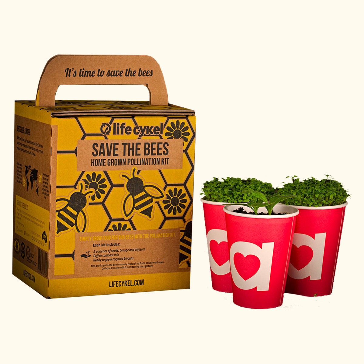 Save the Bees - Grow Kit