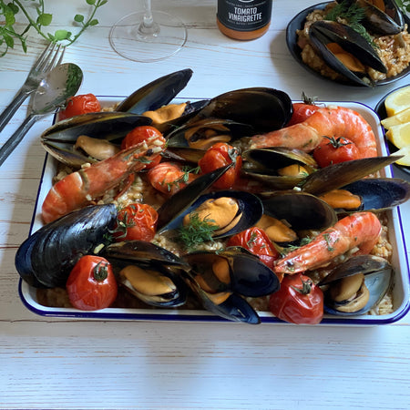 Baked Mussel Risotto