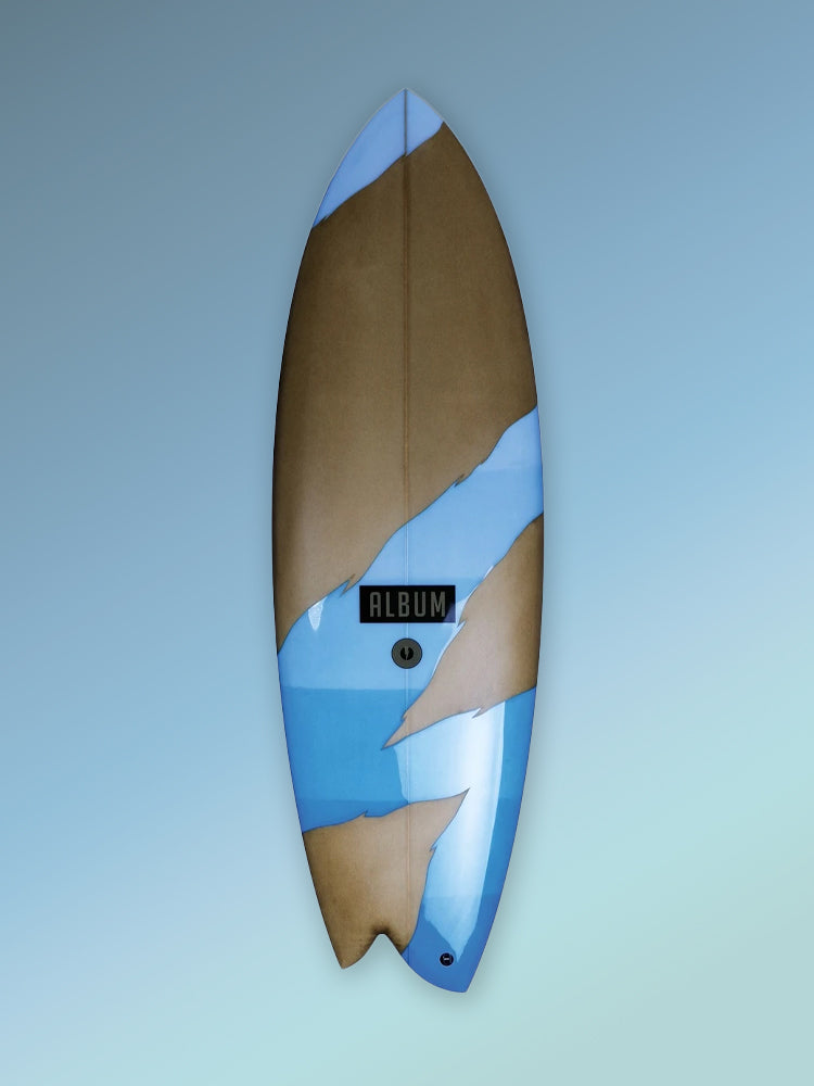 "Album Surfboards :: Fascination  ~ Madhouse 5'6"" x 20"" x 2.38"