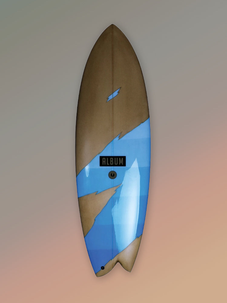 "Album Surfboards :: Fascination  ~ Madhouse 5'8"" x 20.5"" x 2.5"