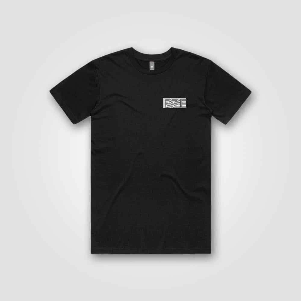 Faze Surfboards :: Tee (black)