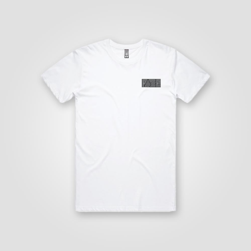 Faze Surfboards :: Tee (white)