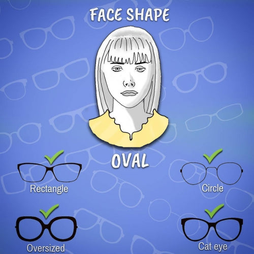 Sunglasses to suit Oblong Face Shape - Eyewearlabs.com