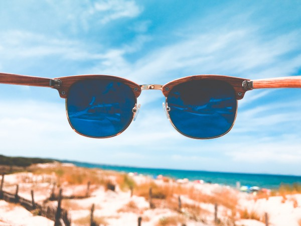 Blue Mirrored Sunglasses Online India