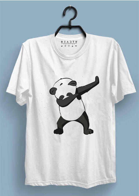 Dabbing Panda Reactr Tshirts For Men - Eyewearlabs