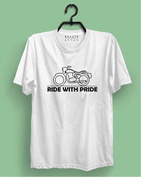 Ride With Pride Reactr Tshirts For Men - Eyewearlabs