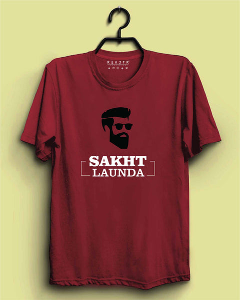 Sakht Launda Reactr Tshirts For Men