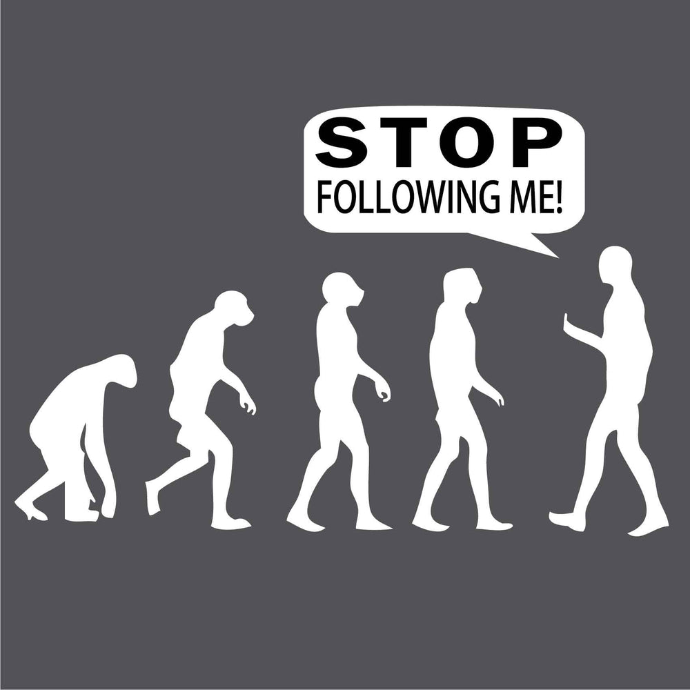 Stop Following Me Reactr Tshirts For Men - Eyewearlabs