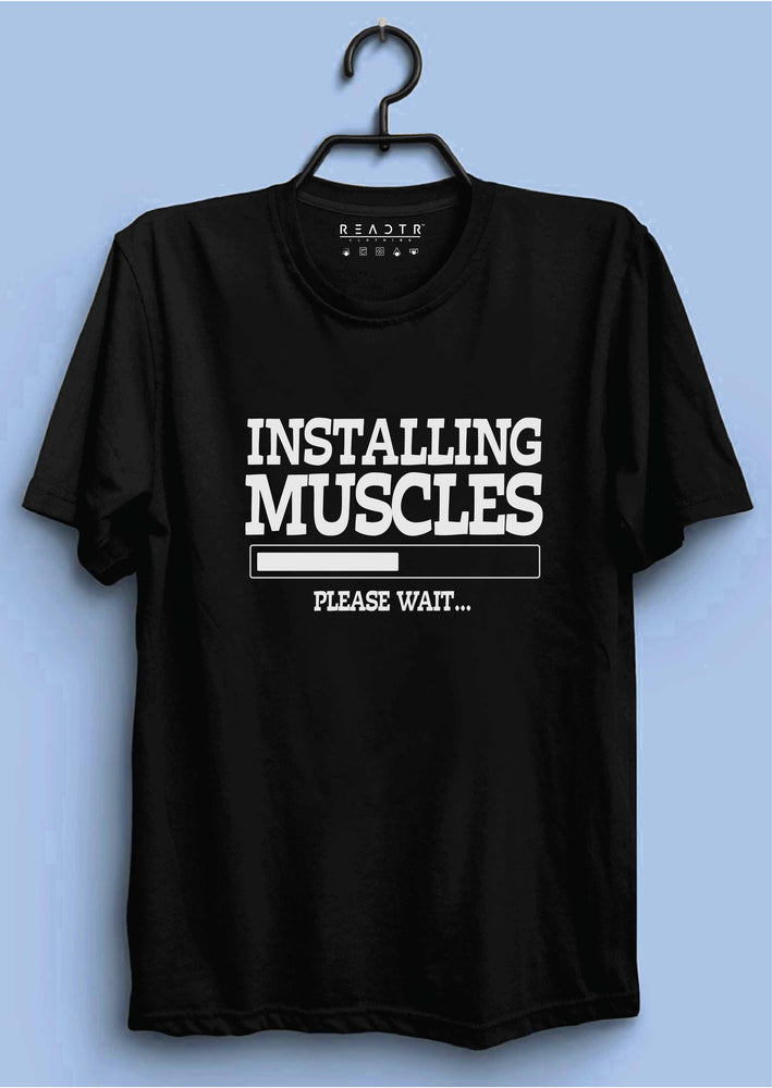 Installing Muscles Reactr Tshirts For Men