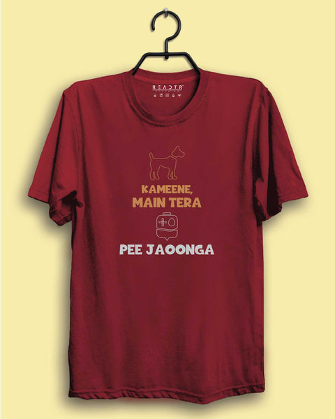 Kameene Mein Tera Khoon Pe Jaonga Reactr Tshirts For Men - Eyewearlabs