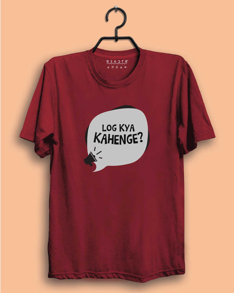 Log Kya Kahenge Reactr Tshirts For Men - Eyewearlabs