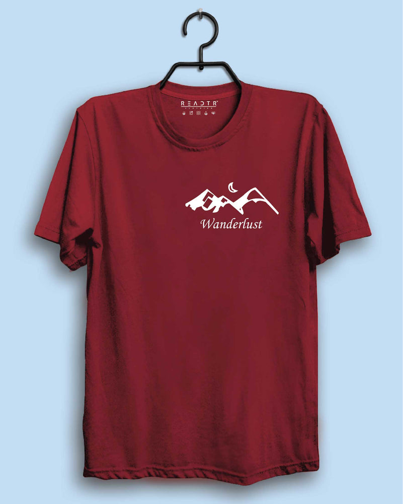 Wanderlust Reactr Tshirts For Men