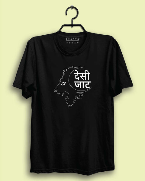 Desi Jatt Reactr Tshirts For Men - Eyewearlabs