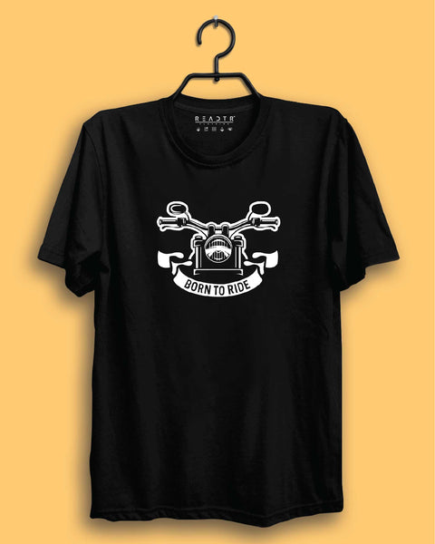 Born To Ride Reactr Tshirts For Men - Eyewearlabs