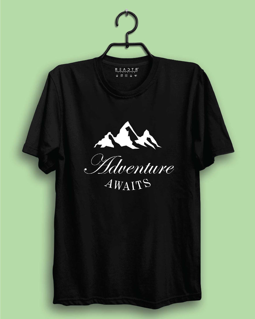 Adventure Awaits Reactr Tshirts For Men - Eyewearlabs