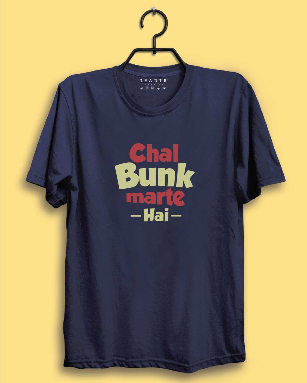 Chal Bunk Marte Hai Reactr Tshirts For Men - Eyewearlabs