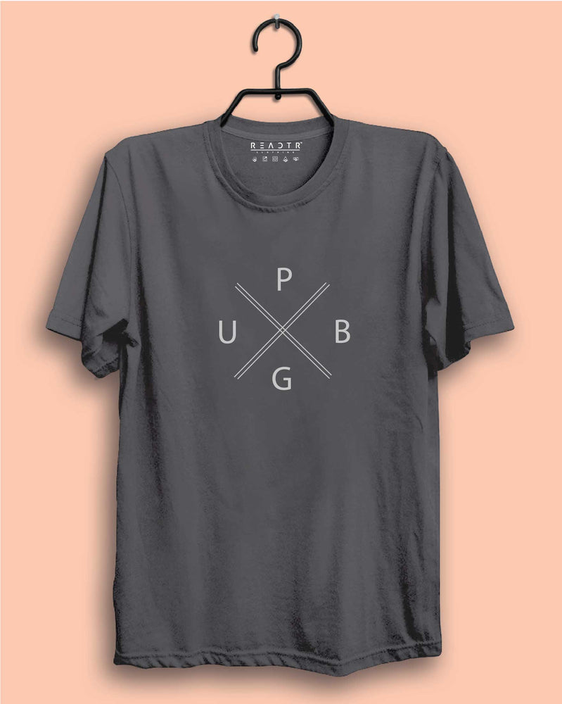 PUBG Reactr Tshirts For Men - Eyewearlabs