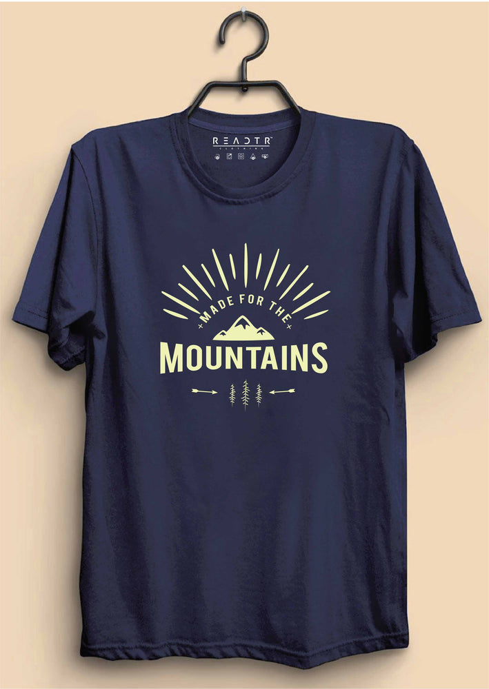 Made For The Mountains Reactr Tshirts For Men