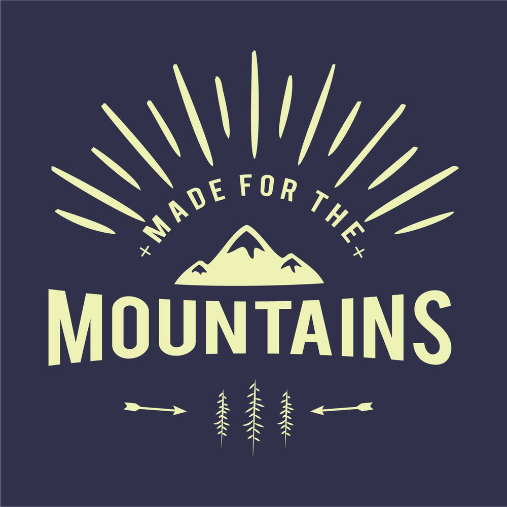 Made For The Mountains Reactr Tshirts For Men - Eyewearlabs
