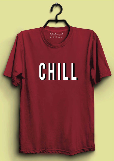 Chill Reactr Tshirts For Men - Eyewearlabs