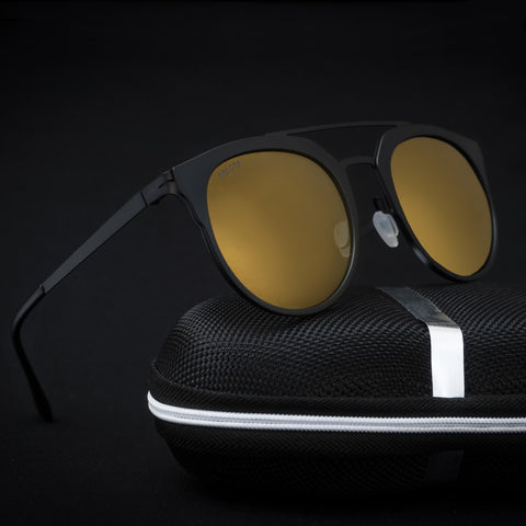 Camp Black Orange Reactr Sunglasses - Eyewearlabs