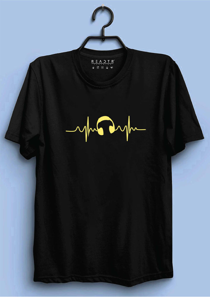 Music Lover Reactr Tshirts For Men - Eyewearlabs