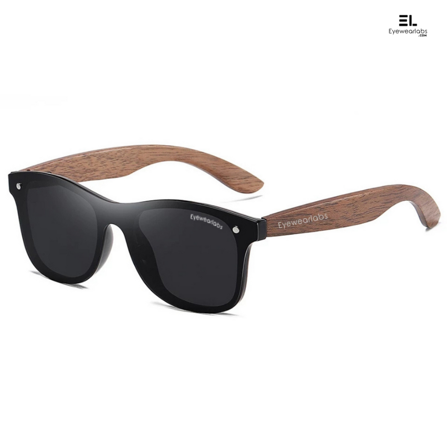 Wood Black Eyewear
