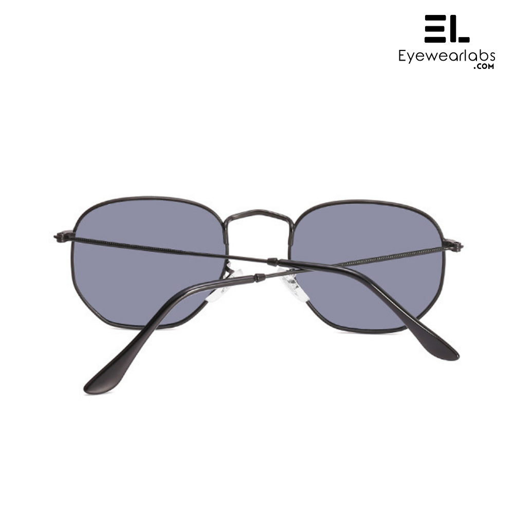 Knight Black Sunglasses For Men - Eyewearlabs