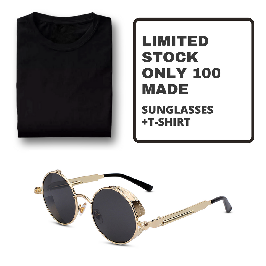 Wilcox Black Gold + Solid T-Shirt