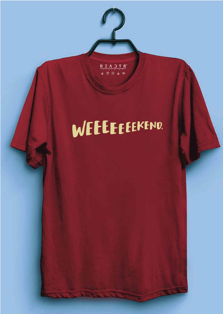 Weekend Reactr Tshirts For Men